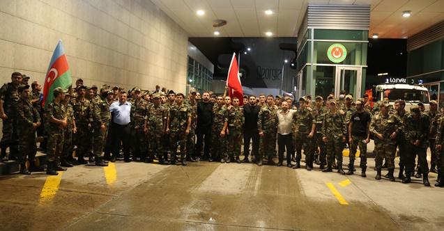 Azerbaycan Desteği Türkiye'ye Ulaştı
